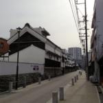 『歴史好き必見』名古屋四間道(しけみち)を走る