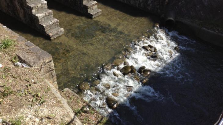 『源流好き!』名古屋の堀川を源流から河口まで走る -その1-