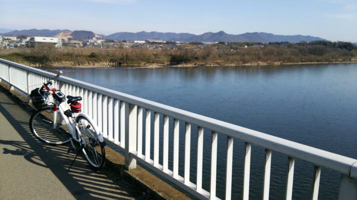 『自転車で』2014年最初の県境越え♪