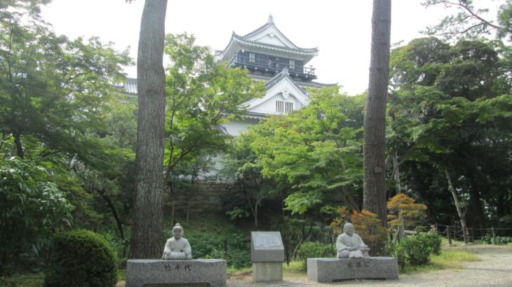 『城好きの自転車旅!』日本100名城の一つ、岡崎城へ♪